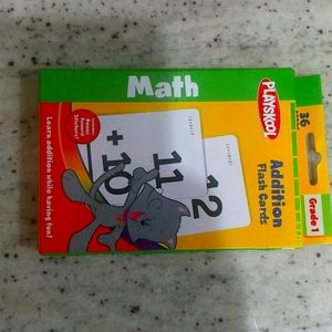 36 Addition Flash Cards for Firt Graders